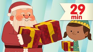 We Wish You a Merry Christmas + More | Christmas Songs for Kids | Super Simple Songs