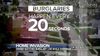 flushyoutube.com-Home Invasion Caught on Camera From Nearly Half a World Away