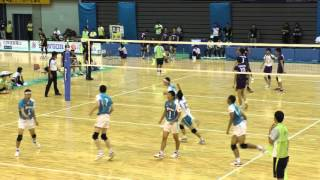 getlinkyoutube.com-★和歌山 国体2015 バレーボール★ 長野×東京