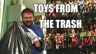 getlinkyoutube.com-REACTION to WIFE throwing away my WWE FIGURES!