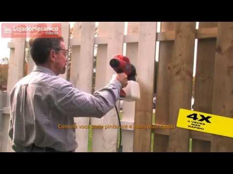 Pistola de Pintura e Pulverizador de Alta Pressão BLACK&DECKER BDPS200 - Loja do Mecânico