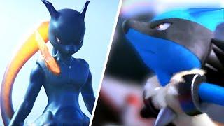 getlinkyoutube.com-Pokken Tournament Gameplay, Pokemon Characters: Sceptile (Pokemon 2016 Game)