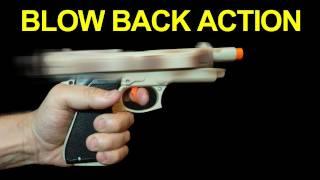 getlinkyoutube.com-Cheap Gun with Blow Back Action !! Not Airsoft -  Filmmaking QUICK FX