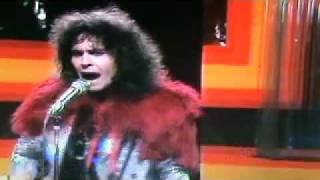"""getlinkyoutube.com-Marc Bolan & T.Rex Rocking Early Version of """"Easy Action"""" 1972"""