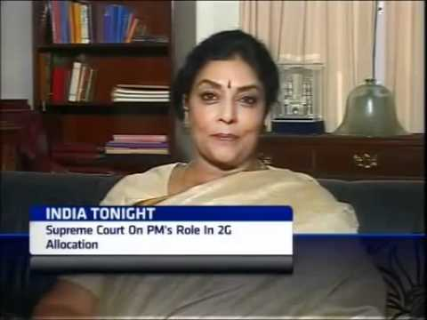 2G Scam debate  Subramainan Swamy vs Renuka Chaudhary full