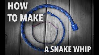 getlinkyoutube.com-How to Make a Snakewhip - by Nick Schrader