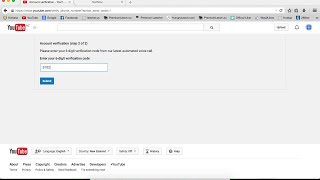 How to verify Google/Youtube account without phone