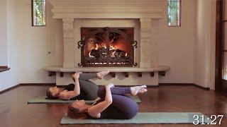 getlinkyoutube.com-Core Strengthening Pilates Workout 180-230 Calories