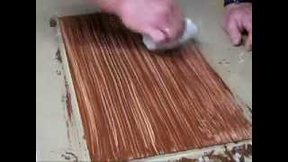 getlinkyoutube.com-Faux Wood Floor on MDF