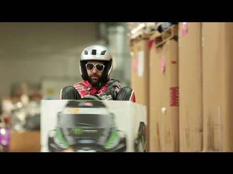 Ken Box: Crazy Cart Gymkhana!  Epic Ken Block Gymkhana Tribu