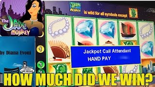 getlinkyoutube.com-HANDPAY! JADE MONKEY SLOT MACHINE-LIVE PLAY!