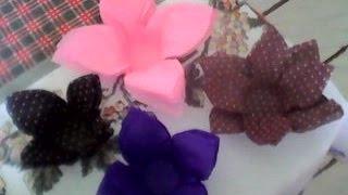 getlinkyoutube.com-Como fazer forminha para doces (formato de rosa)com papel crepom