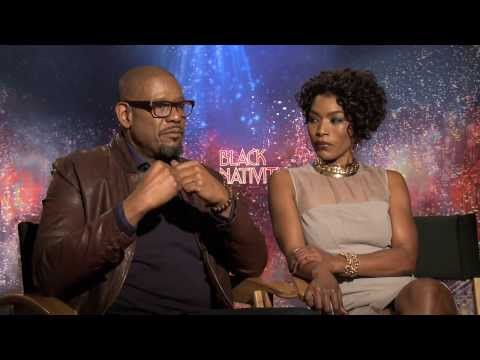 Forest Whitaker and Angela Bassett Interview -- Black Nativi