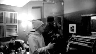 Bow wow en studio avec Talib Kweli