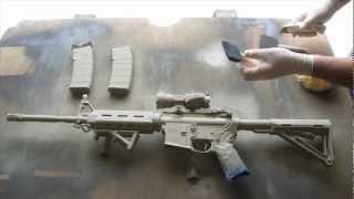 getlinkyoutube.com-How to Camouflage a Rifle(AR15)