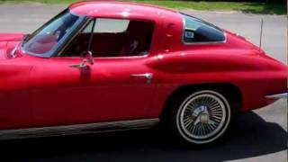 getlinkyoutube.com-SOLD 1963 red-red split window for sale Corvette Mike 4 com