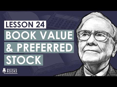 24. Calculate Book Value with Preferred Stock