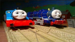getlinkyoutube.com-Heave Ho Thomas! - SteamTeam's TrackMaster Adventures - Season 7, Episode 2 - Brand New - 2011