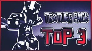 TPF #10 TOP 3 MINECRAFT PVP TEXTURE PACKS - DEFAULT EDIT UHC/MCSG FPS+++ MCPC + MCPE
