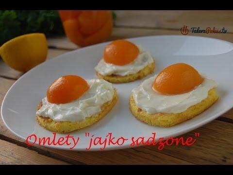 """Omlety """"jajko sadzone"""""""