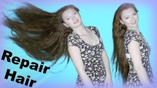 getlinkyoutube.com-DIY Hair rinse REPAIR DAMAGED HAIR!