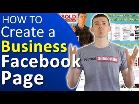 How To Create a Facebook Page For Your Business - (Timeline Facebook Profile)