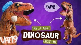 getlinkyoutube.com-Inflatable Dinosaur Costume