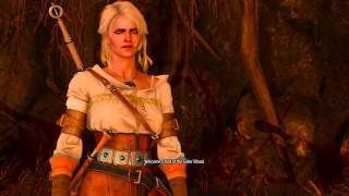 getlinkyoutube.com-The Witcher 3: Ciri and the Crones boss fight
