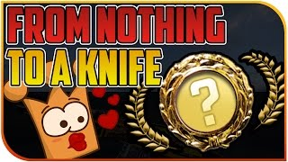 getlinkyoutube.com-From Nothing to a KNIFE   0$ Kostenloses CS:GO Messer mit Free Coin Code   Lecker Gratis