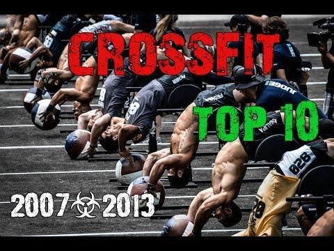 Кроссфит - топ 10. Лучшие кроссфитеры 2007-2013гг.