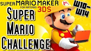 getlinkyoutube.com-Super Mario Maker 3DS All SUPER MARIO CHALLENGE Courses (Worlds 10 to 14)