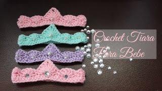 Crochet Tiara Para Bebe