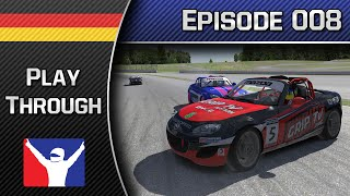 iRacing durchgespielt #008 ► Advanced Mazda Cup | Let's Play iRacing | German | 1080p | 60fps