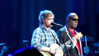 getlinkyoutube.com-Pastime Paradise - Stevie Wonder & Ed Sheeran -10/14/15