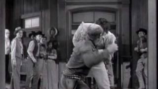 getlinkyoutube.com-Clint Walker - Cheyenne Fight Scenes From Season 1