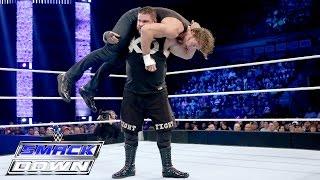 getlinkyoutube.com-Dean Ambrose vs. Kevin Owens: SmackDown, Nov. 5, 2015