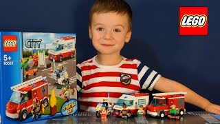 getlinkyoutube.com-Lego City 60023. Лего мультик. Машинки Конструктор. Обзор Лего Сити 60023 от Kokatube