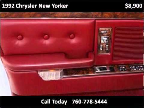1992 chrysler new yorker problems online manuals and for 1992 chrysler new yorker salon