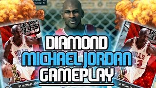 getlinkyoutube.com-NBA 2K16 MyTEAM - DIAMOND MICHAEL JORDAN CRAZY GAMEPLAY! Funny Opponent Rage!