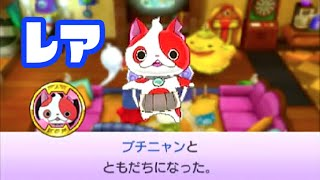 getlinkyoutube.com-【レア】ブチニャンGET!!妖怪ウォッチバスターズ赤猫団/白犬隊 ようかいの輪10コ達成!#54 Yo-kai Watch