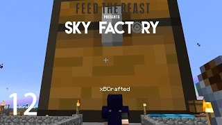 Sky Factory 3 w/ xB - COLOSSAL CHEST [E12] (Minecraft Modded Sky Block)