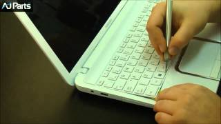 getlinkyoutube.com-How to replace a keyboard on a Toshiba Satellite L850D Series laptop