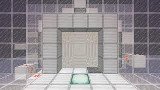 getlinkyoutube.com-Minecraft 3×3薄型ピストンドア