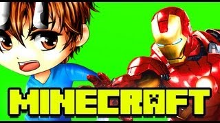 Minecraft SUPERHEROES Iron Man Mod!