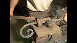 Станок для холодной ковки,гибки металла.
