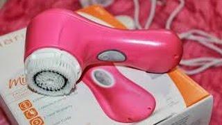 تجربتي  مع آلة غسل الوجه من موقع gearbest