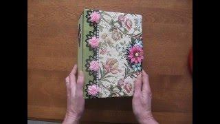 getlinkyoutube.com-Combination Handmade Journal/Diary and Scrapbook Mini Album