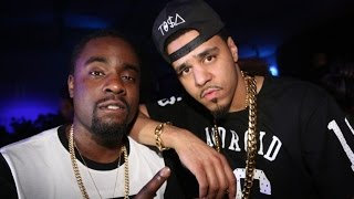 getlinkyoutube.com-Wale Answers J Cole 'False Prophets' Song and then Kicks it with him at a Basketball Game!