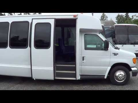 Northwest Bus Sales - 2005 Ford Krystal 28 Passenger Shuttle Bus For Sale - S66178