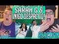 OMG! SO AMAZING!! Sarah Geronimo and Iñigo Pascual Despacito REACTION!! 🔥
